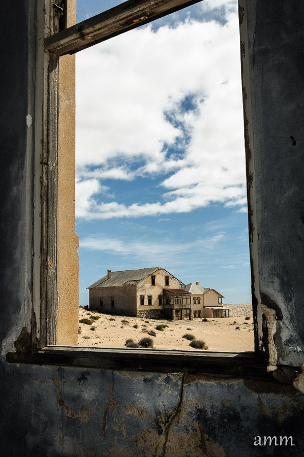 In the southern area of African is Namibia in the Namib desert. Located here is Kolmanskop, a ghost town founded in 1908 and abandoned in 1954. The town, built because diamonds were found in the area, was popular for miners until supply began to diminish in the 1920s. Once diamonds disappeared, so did residents similar to that of many gold rush ghost towns in the western United States. Despite the abandonment, Kolmanskop continues to be a popular site for tourists.