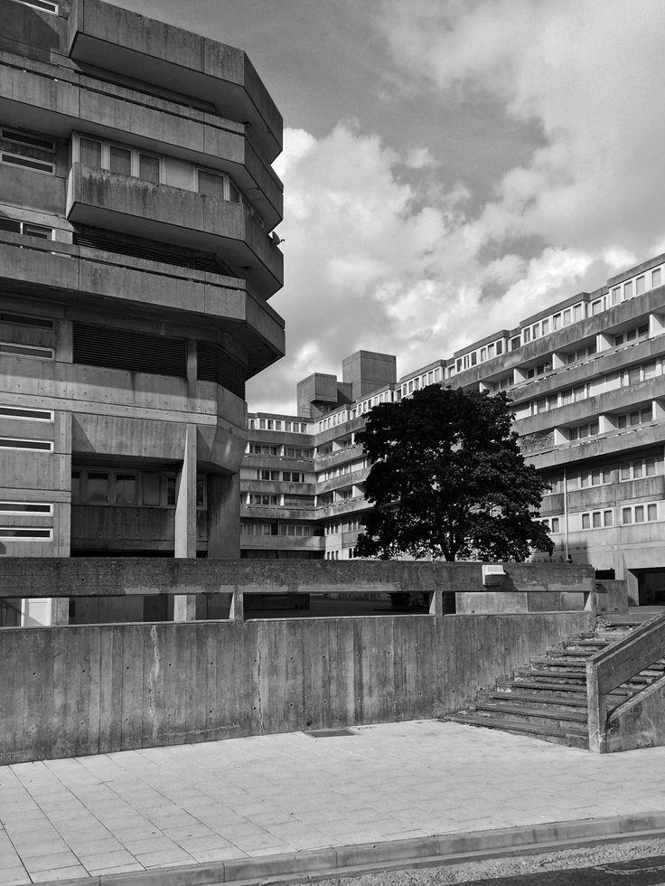 Wyndham Court, Southampton, 1966-69. By Lyons Israel Ellis
