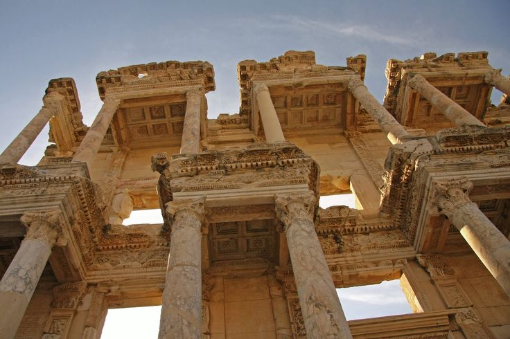 Library of Celsus by Adam Konieczny on 500px