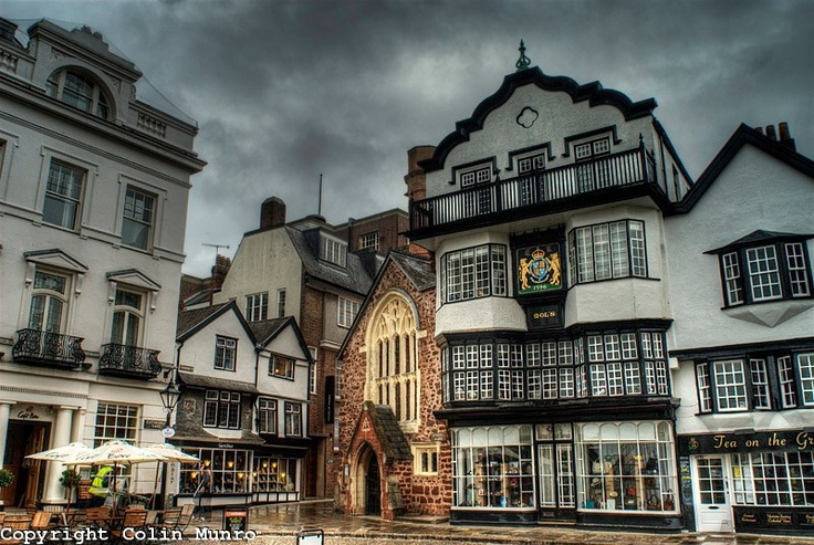 Cathedral Close, Exeter, Devon, England, UK. No matter how long I've been gone, this is still 'home' ❤
