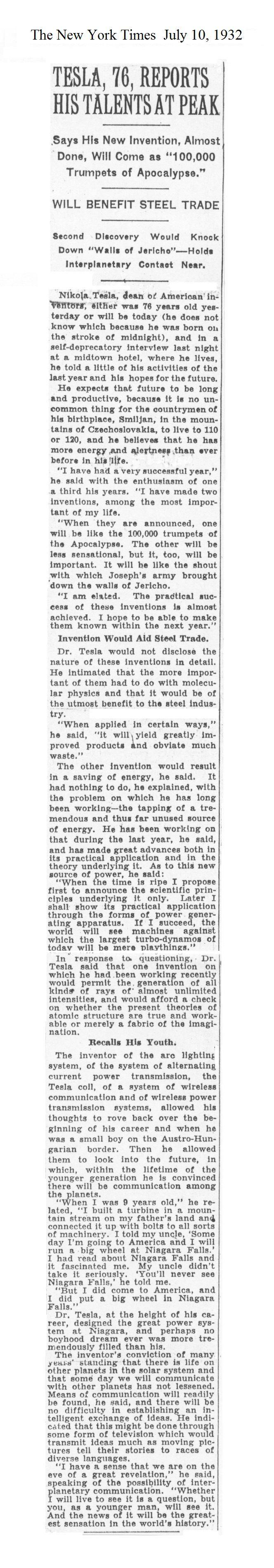 Bonus Volume-New York Sun Tesla Clipping File 1930-1945_14
