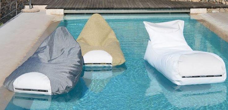 INPOOL di XPOUF #design #beanbag #floating #design #outdoor