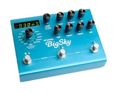 strymon Big Sky from 2014 in Effect Pedal for sale. This is offered by Resident Guitars, Germany. View the strymon Big Sky online now!