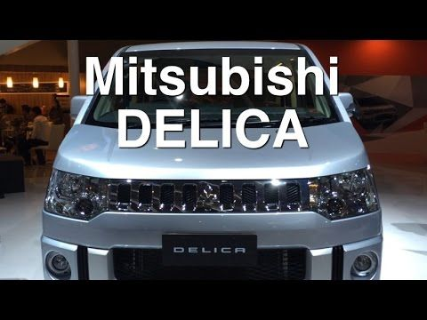 Mitsubishi DELICA Review - IIMS 2014 - YouTube