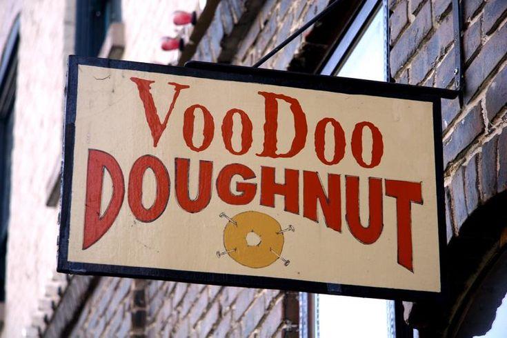voodoo Portland, doughnut for Ray