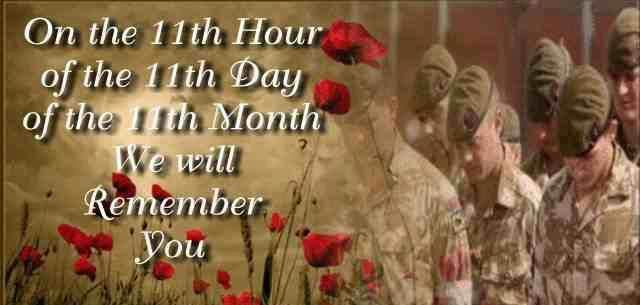 On the 11th hour of the 11th day of the 11th month, we will remember you. Happy Veterans Day from the Pam's VAS Team!  Veterans Day, also known as Armistice Day or Remembrance Day, is a federal holiday and is observed each year on November 11th. From veterans of World War I & II, to the Vietnam War, to the War in Iraq and the War in Afghanistan, Pam's VAS would love to tell our troops – past and present – how much both we and America appreciates them.