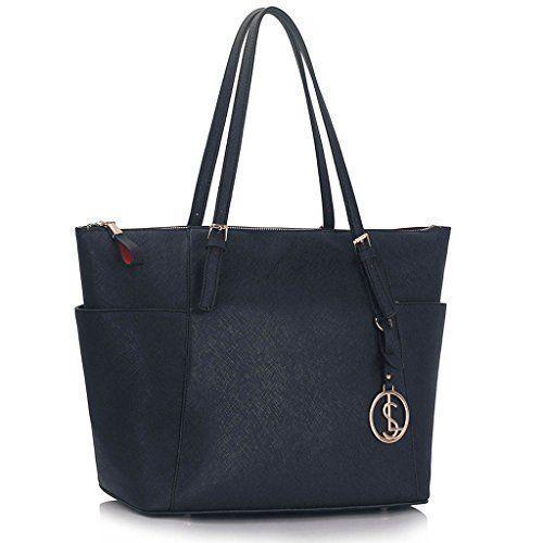 Frauen Handtaschen Damen Grosse Handtasche Designer Kunstleder Promi-Stil neu