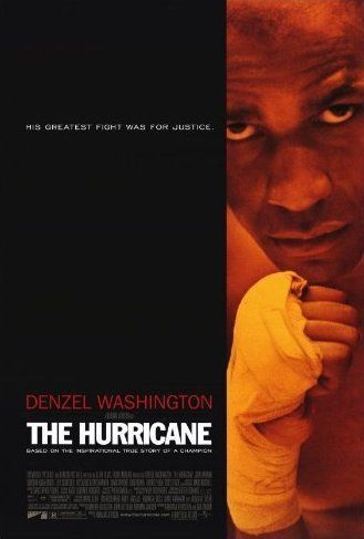 "Hurricane (1999) #film #cinema The story of Rubin ""Hurricane"" Carter, a boxer wrongly imprisoned for murder, and the people who aided in his fight to prove his innocence. - one of the most impressive #movies I've seen"