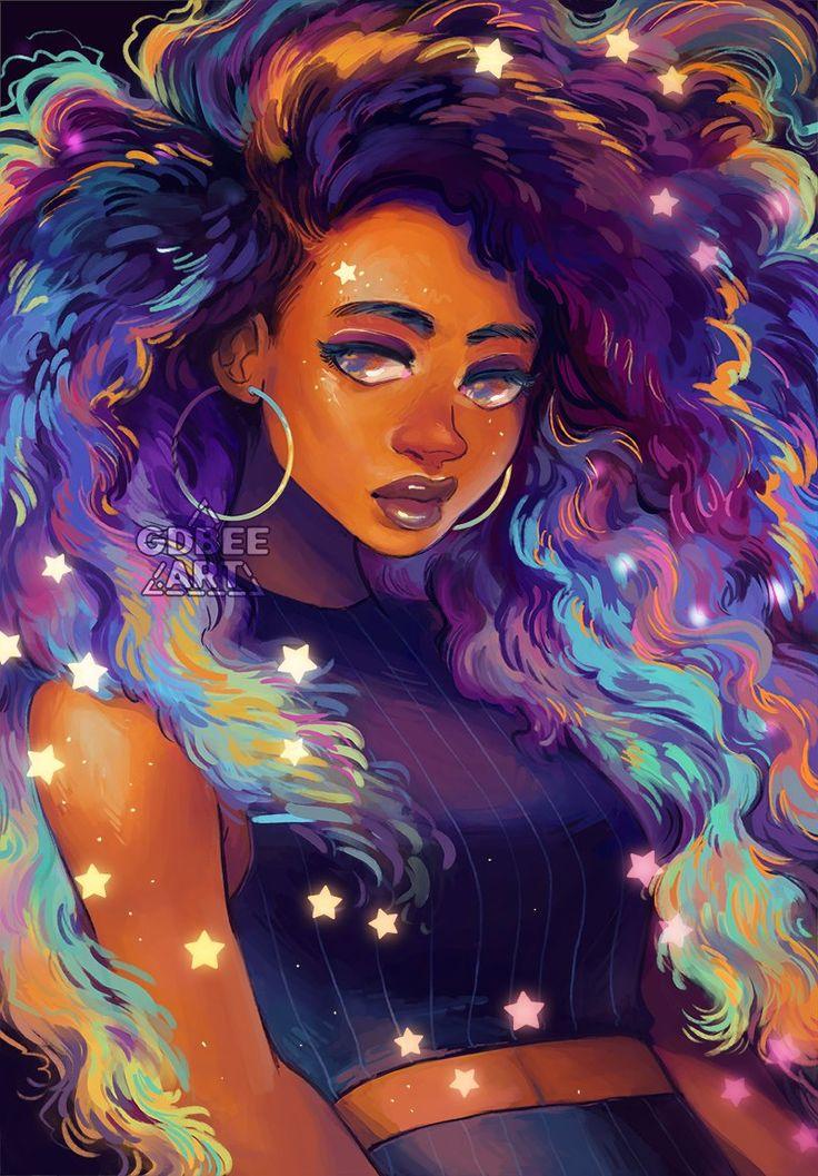 geneva 彡 on in 2020 Black girl magic art, Black art