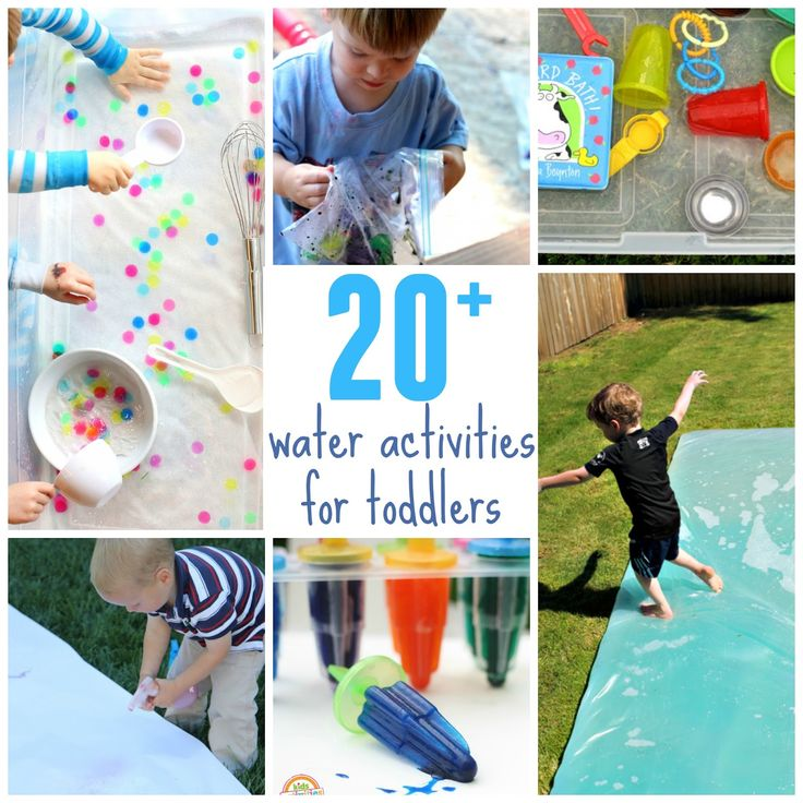 Toddler Approved!: 20+ Outdoor Water Activities for Toddlers