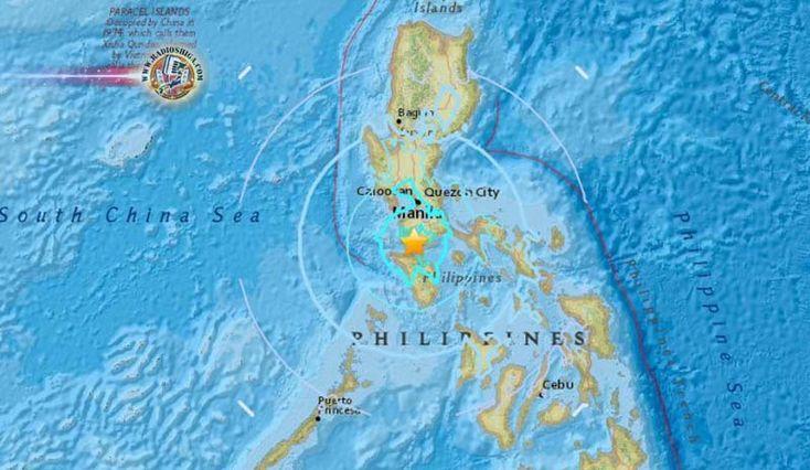 Filipinas: Centenas de pessoas fogem após três fortes terremotos. Centenas de residentes de áreas costeiras de uma província ao sul da capital filipina fugi