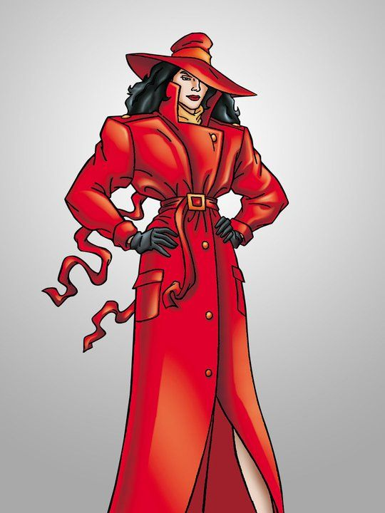 Where on Earth Is Carmen Sandiego? (TV show)  Carmen San Diego is voiced by Rita Moreno