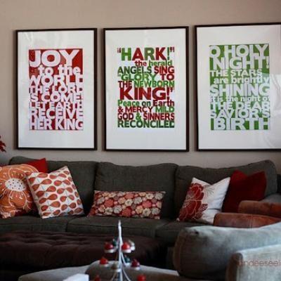 Christmas Song Art {Christmas Song}