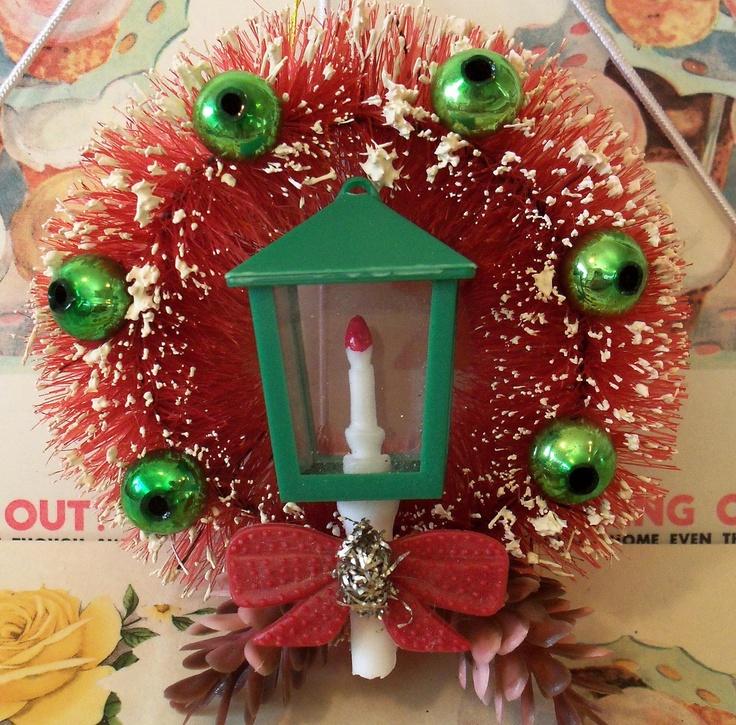 Bottle Brush Wreath Christmas ProjectsChristmas WreathsChristmas