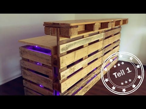 17 best ideas about bar aus paletten on pinterest for Bartheke selbst gebaut