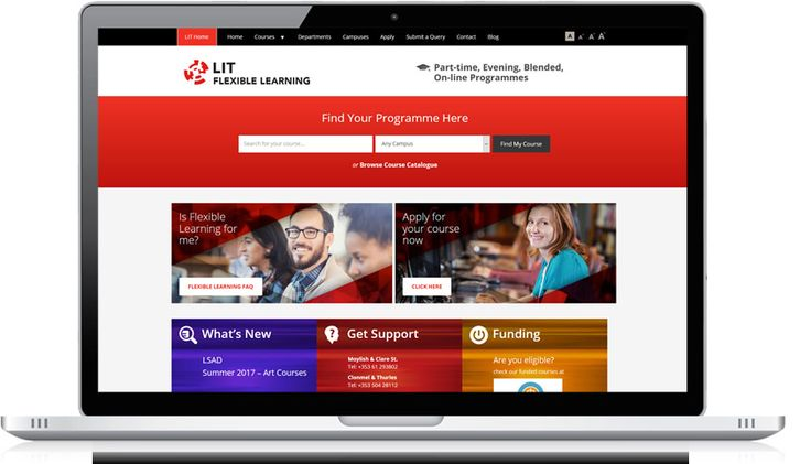 LIT offers a wide range of programmes in its Flexible Learning portfolio across all of its different academic Departments such as IT, Sport, Business, Applied & Social Sciences. LIT were not entirely happy with the look & feel of their current website or the process of managing &...