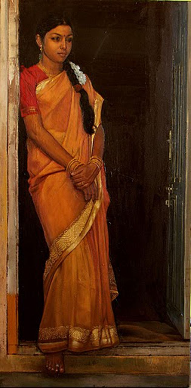 Amazing Oil Painting by South Indian Legend Ilaiyaraaja (18)