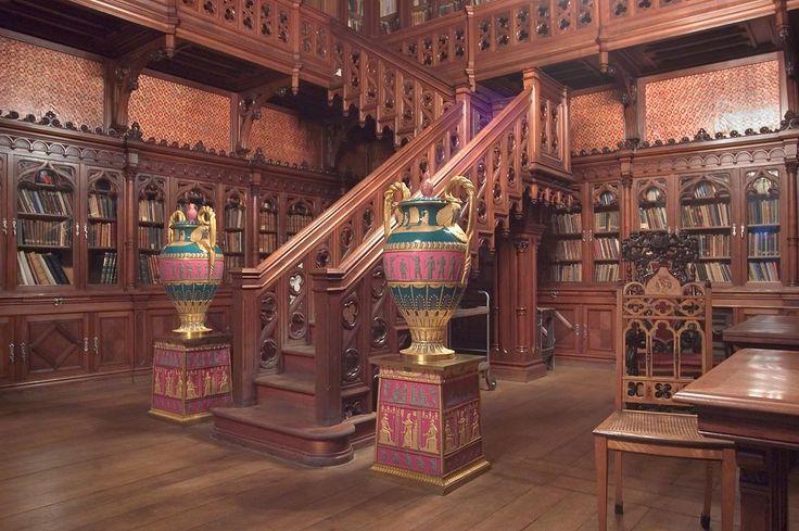 Library of Nicholas II of Hermitage Museum. Saint Petersburg, Russia