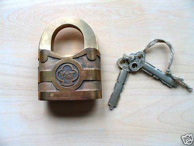 """vintage lock   RestraintsBlog: Vintage Yale Lock Padlock 4"""" Tall"""