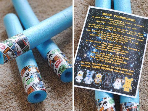 Star Wars Disney Vacation Surprise Ideas Printables