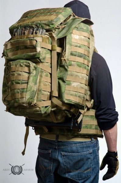 Ares Armor has just released their new Satellite Ruck.