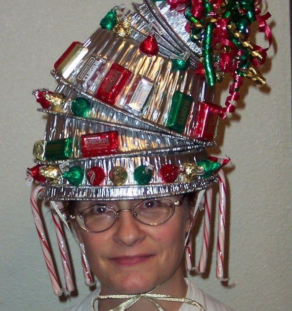 Crazy Christmas Hat Ideas: 11 Best Hat Contest Ideas Images On Pinterest