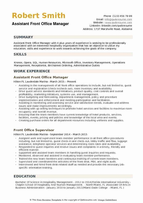 Front Desk Job Description Resume New Assistant Front Fice Manager Resume Samples Medical Resume Medical Assistant Resume Resume Examples