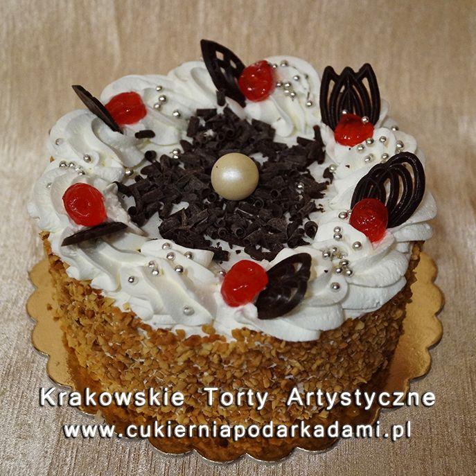 074. Tort miodowo-śmietanowy. Honey cream cake.