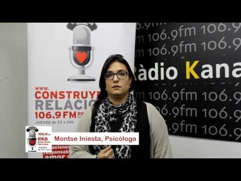 Construyendo Relaciones Radio con Montse Iniesta, psicóloga en l'Institut de Psicologia Espasa.