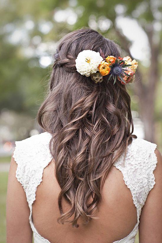 oh!myWedding: Coronas de flores para las novias / Flower Crown
