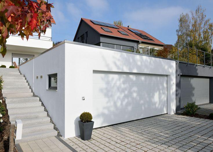 die besten 25 fertiggarage doppelgarage ideen auf pinterest garagentor ma e garage ma e und. Black Bedroom Furniture Sets. Home Design Ideas
