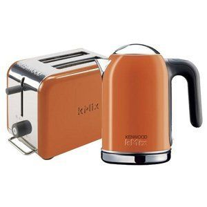 orange kettle and toaster kenwood - Google Search