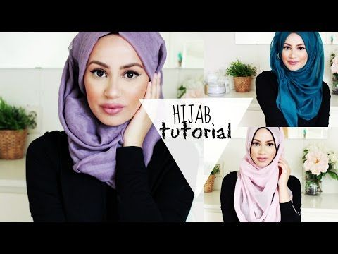 The Perfect Hijab Tutorial for Spring! - YouTube