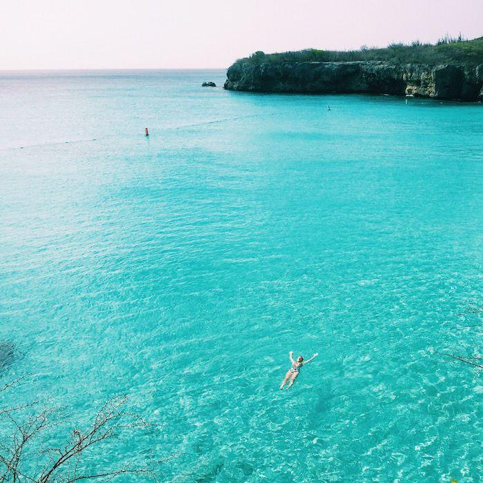 Kleine Knip Beach in Curacao