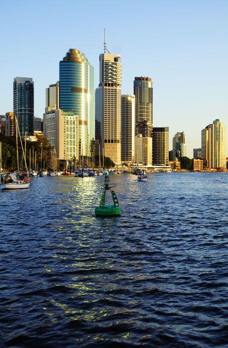 Skyline of Brisbane City - CBD http://maloufdental.com.au/