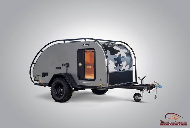 Cool Oregon Trailrs Latest Teardrop Is One Of Their Smallest Models Yet The Mini Camper Can Be Outfitted To Take Offroad Or For Normal Highway Use Its Minimalistic With Only Enough Space To Sleep One Or Two People You Can Find More Specs And