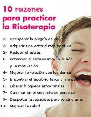 10 razones para practicar la risoterapia