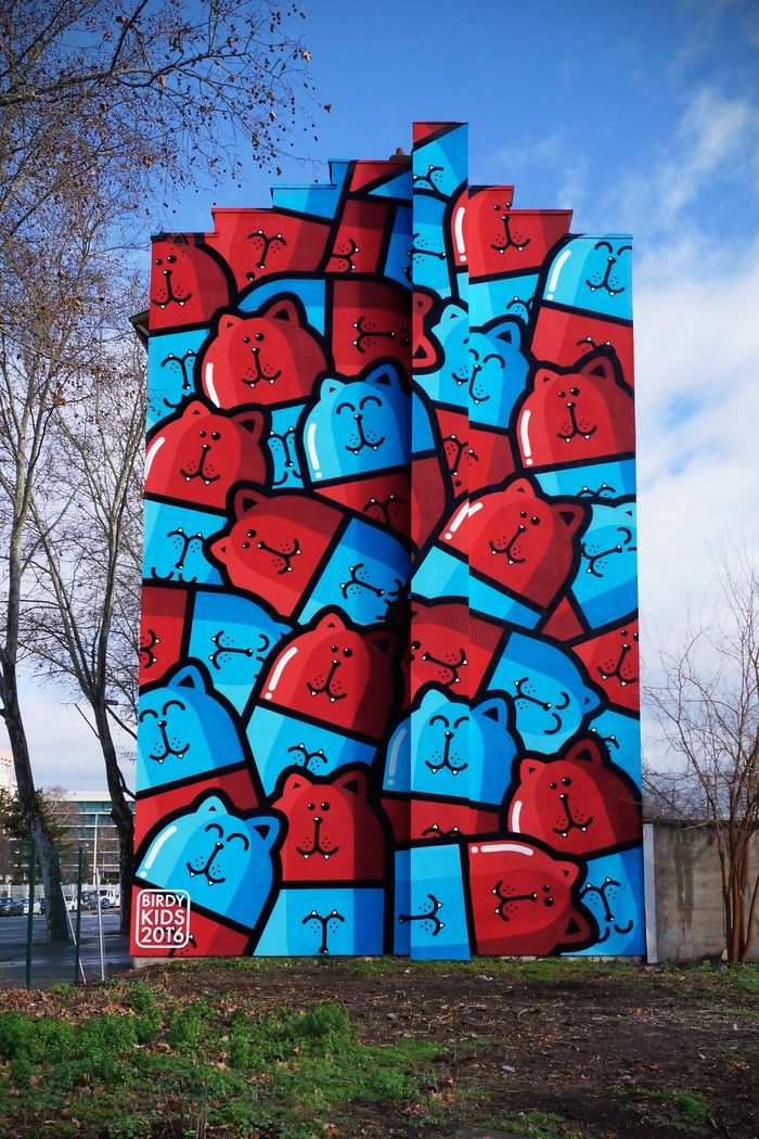 20 стрит-арт-работ на грани искусства и хулиганства • НОВОСТИ В ФОТОГРАФИЯХ