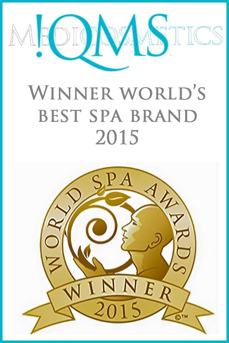 As we all know, World's best spa brand. !QMS Medicosmetics