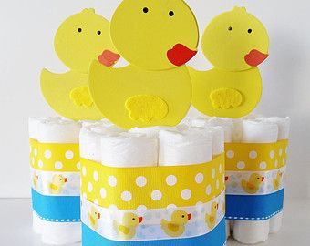Stork Bundle Baby Shower Gift Baby Boy by LilLoveBugsCreations