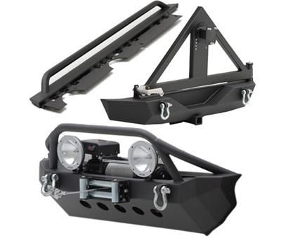 Smittybilt Part XRCJK1 - XRC Bumper Package