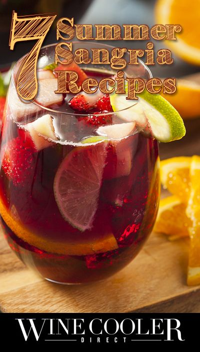 Turning your average wine into a fruity sangria can transform your drink. Click here to read 7 fun sangria recipes that will be sure to spice up your summer.
