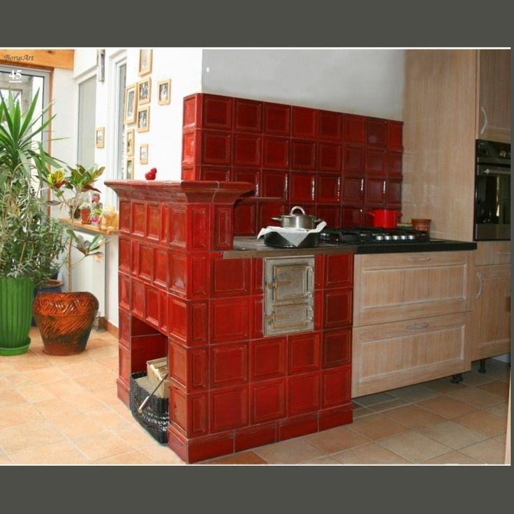 KUCHNIA KAFLOWA Zaprojektowana i wykonana od projektu, wykonania modeli, form, kafli oraz montaż przez artystę plastyka, architekta wnętrz Ryszarda Krawczyka -BorysArt