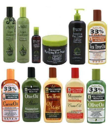 Hollywood Beauty Ultimate set of 11 pcs for Hair and Scalp Treatment (3 oils, 3 scalp moisturizers, 1 argan shampoo and conditioner, argan oil hair mask hair creme and hair oil treatment) Plus 2 Free of Apple EYE Pencil Color: Radiant Blue * Check this awesome product by going to the link at the image.