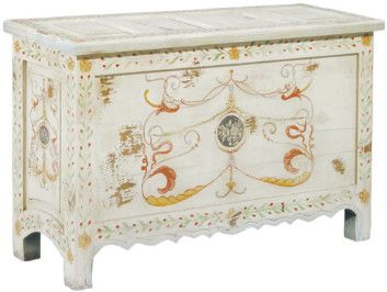 Painted Blanket Chest   Chests, Furniture, Home Decor | Soft Surroundings