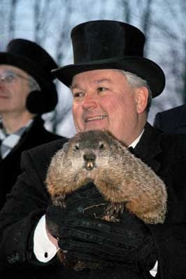 Groundhog's Day  Punxsutawney Pennsylvania