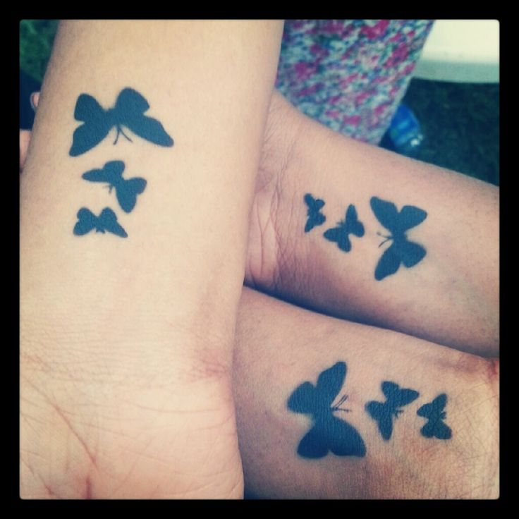 Tattoo for Bestfriend: Beautiful Butterfly Tattoos For Your Best Friends ~ randomkitty.net Tattoo Inspirations Inspiration