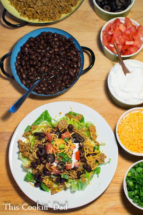 Weeknight Taco Salad Bar