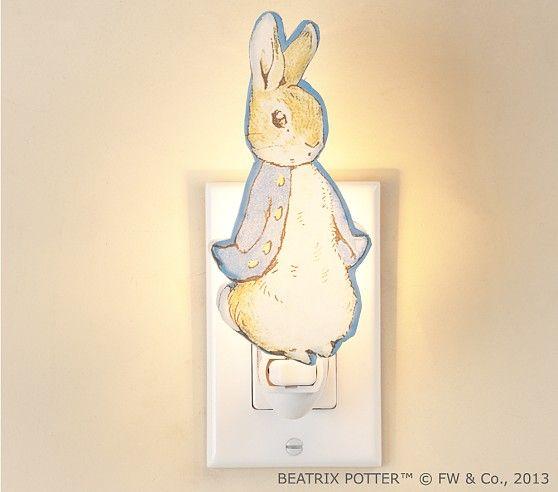Peter Rabbit™ Nightlight | Pottery Barn Kids