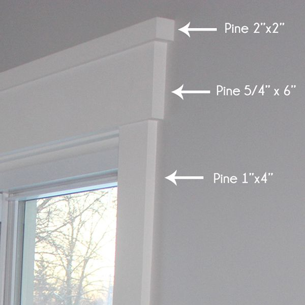 DIY Modern Easy Craftsman Window Trim  Interiors, Exterior, DIY, Style, With Curtains, Simple, With Blinds, Ideas, Kitchen, Dining Rooms, Floor Plans, Crown Moldings, Dream Homes, Curb Appeal, Dark Wood, Columns, Benjamin Moore, Porches, Bedrooms, Siding Colors, Stones, Cedar Shakes, Baseboards, Garage, Square Feet, Basements, Entrance, Layout, House Tours, Photo Galleries, Design, Master Bath, Limes, Fixer Upper, Paint, Cottages, Joanna Gaines, Gray, Leaded Glass, Google, Shutters, Bricks…
